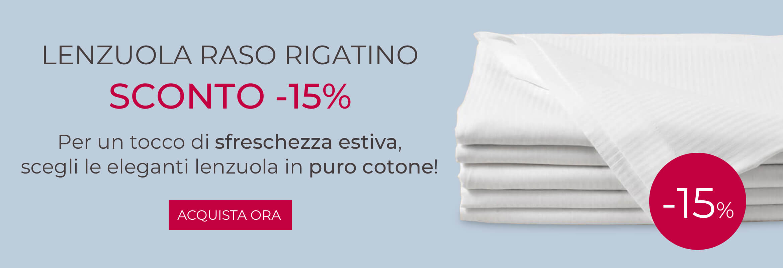 PROMO RASO RIGATINO -15%